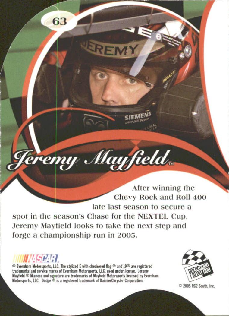 2005-Press-Pass-Premium-Race-Card-s-1-81-A3477-You-Pick-10-FREE-SHIP thumbnail 63