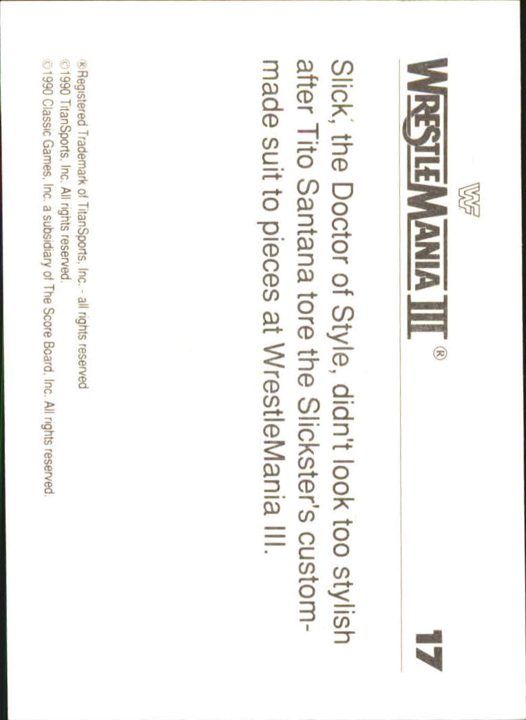 1990-Classic-WWF-History-of-WrestleMania-A3974-You-Pick-10-FREE-SHIP thumbnail 23