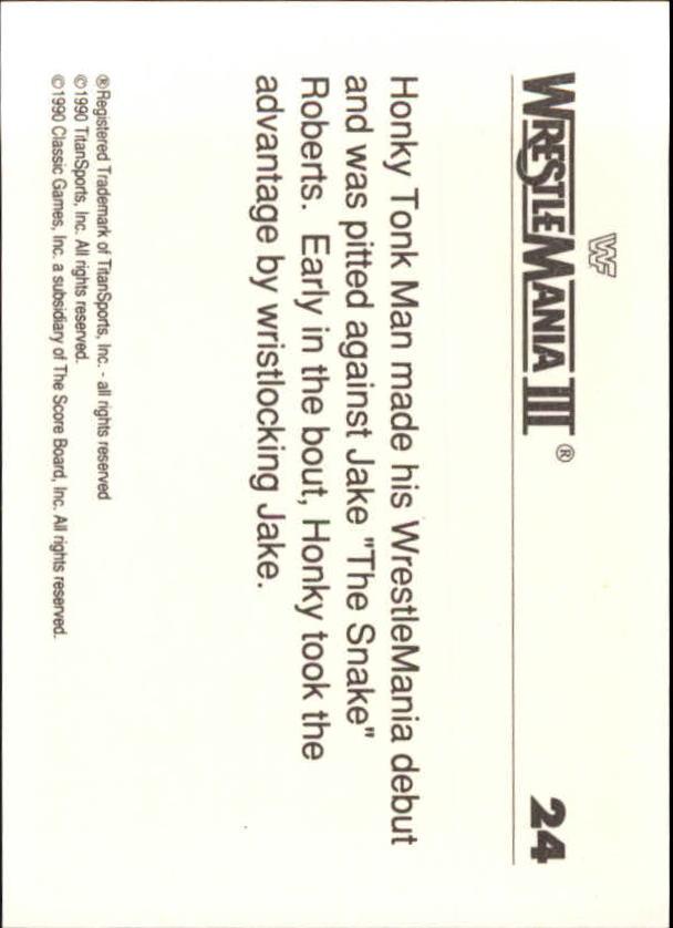1990-Classic-WWF-History-of-WrestleMania-A3974-You-Pick-10-FREE-SHIP thumbnail 35