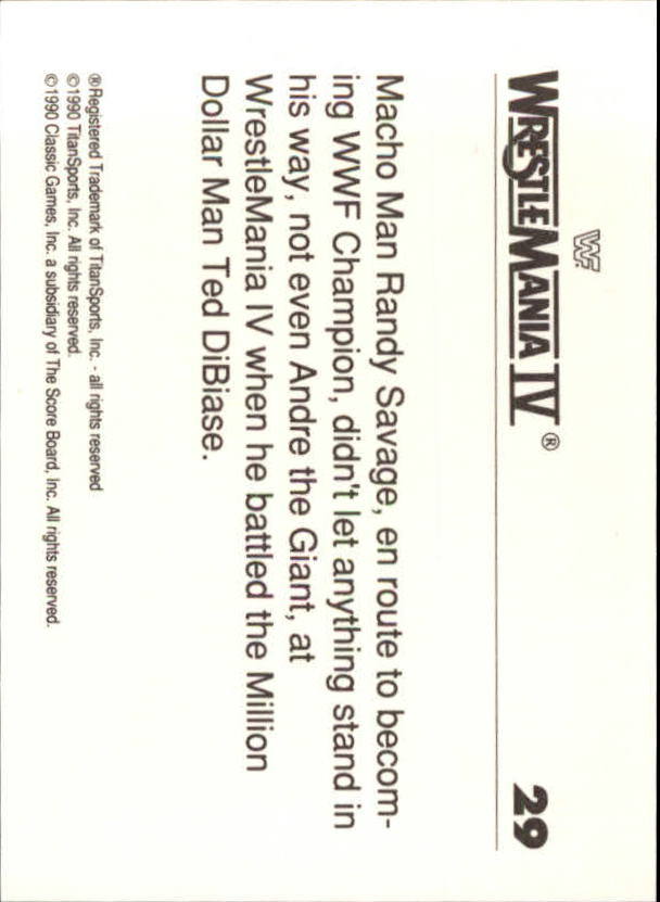 1990-Classic-WWF-History-of-WrestleMania-A3974-You-Pick-10-FREE-SHIP thumbnail 43