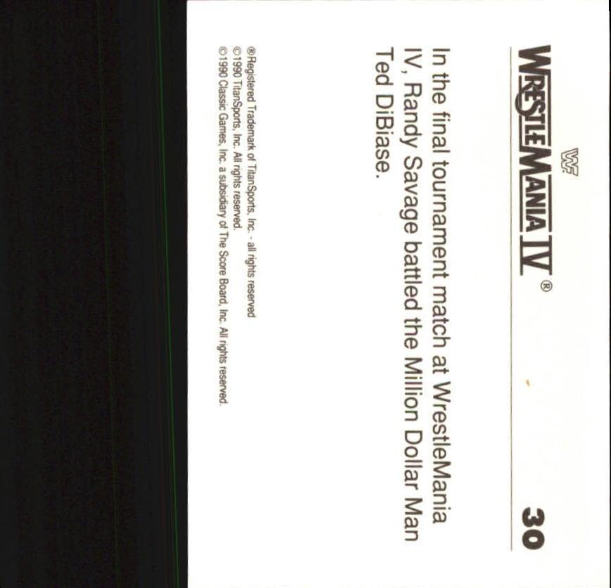 1990-Classic-WWF-History-of-WrestleMania-A3974-You-Pick-10-FREE-SHIP thumbnail 45