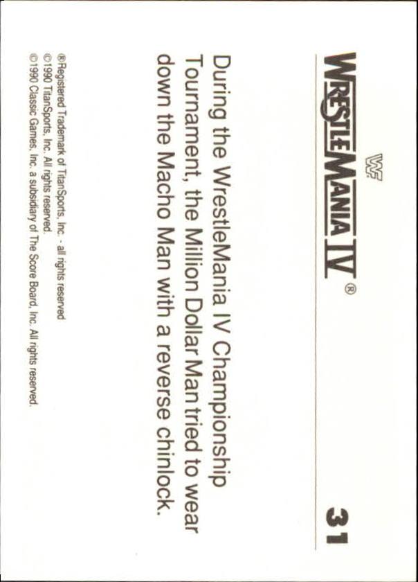 1990-Classic-WWF-History-of-WrestleMania-A3974-You-Pick-10-FREE-SHIP thumbnail 47