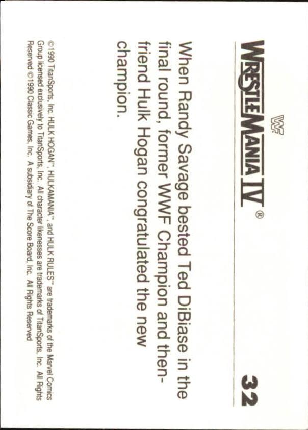 1990-Classic-WWF-History-of-WrestleMania-A3974-You-Pick-10-FREE-SHIP thumbnail 49