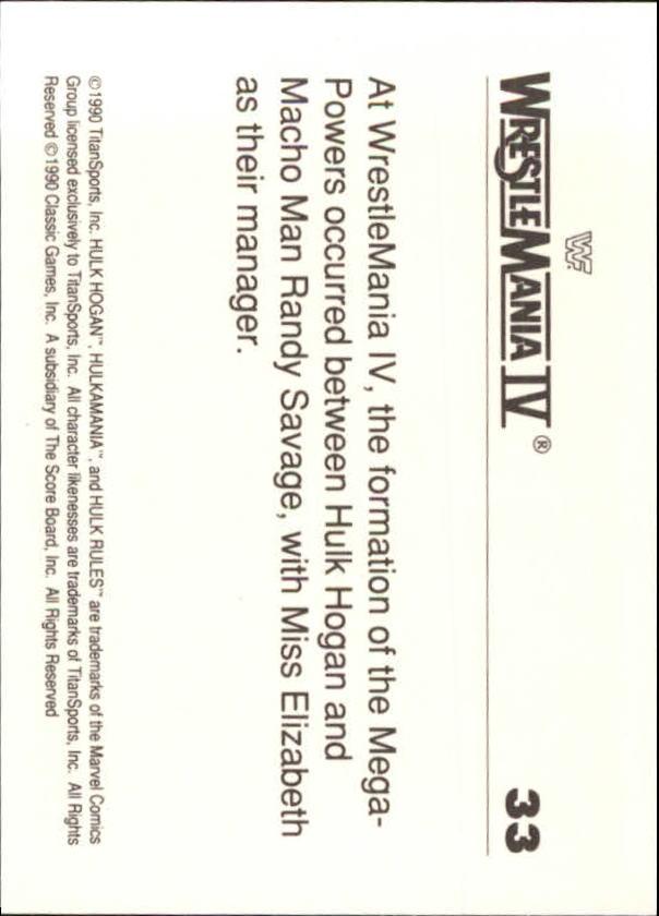 1990-Classic-WWF-History-of-WrestleMania-A3974-You-Pick-10-FREE-SHIP thumbnail 51