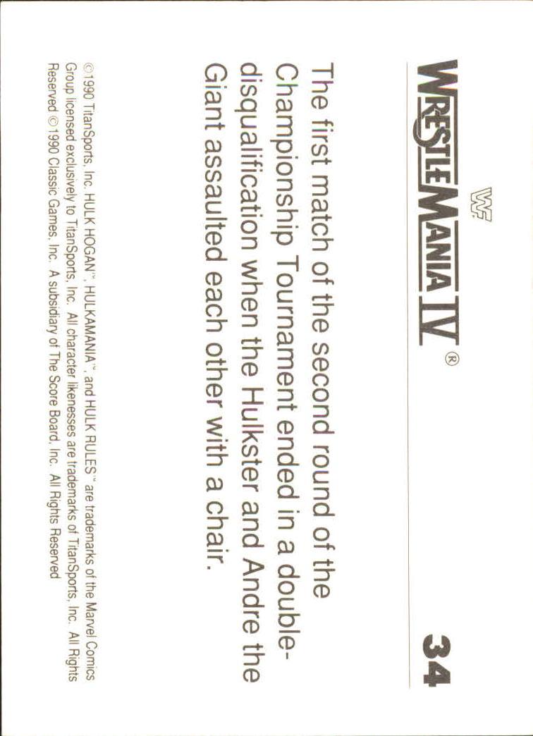 1990-Classic-WWF-History-of-WrestleMania-A3974-You-Pick-10-FREE-SHIP thumbnail 53