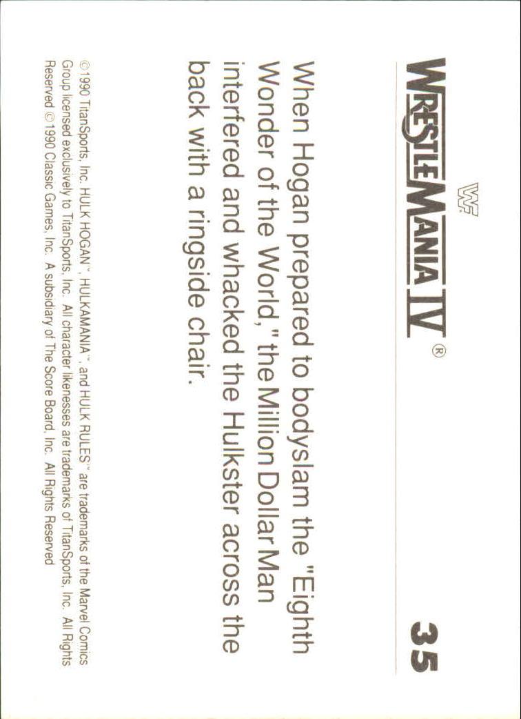 1990-Classic-WWF-History-of-WrestleMania-A3974-You-Pick-10-FREE-SHIP thumbnail 55