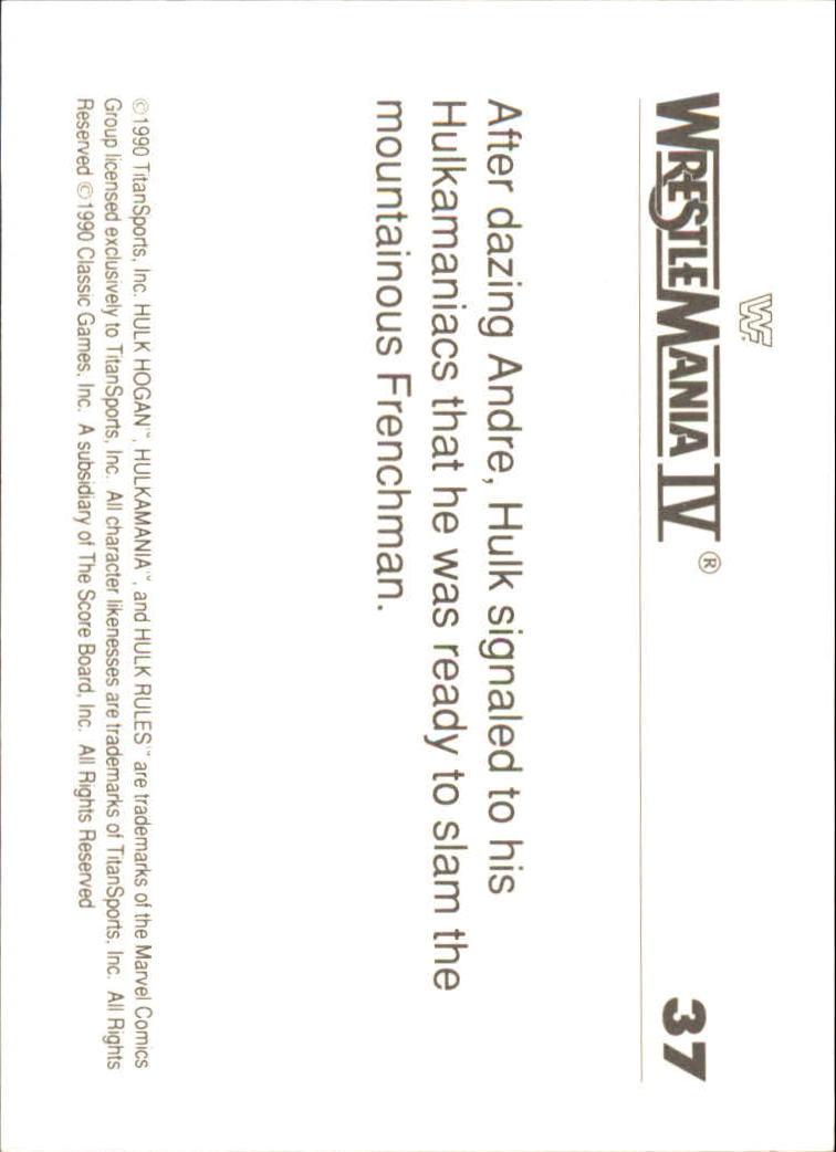 1990-Classic-WWF-History-of-WrestleMania-A3974-You-Pick-10-FREE-SHIP thumbnail 59