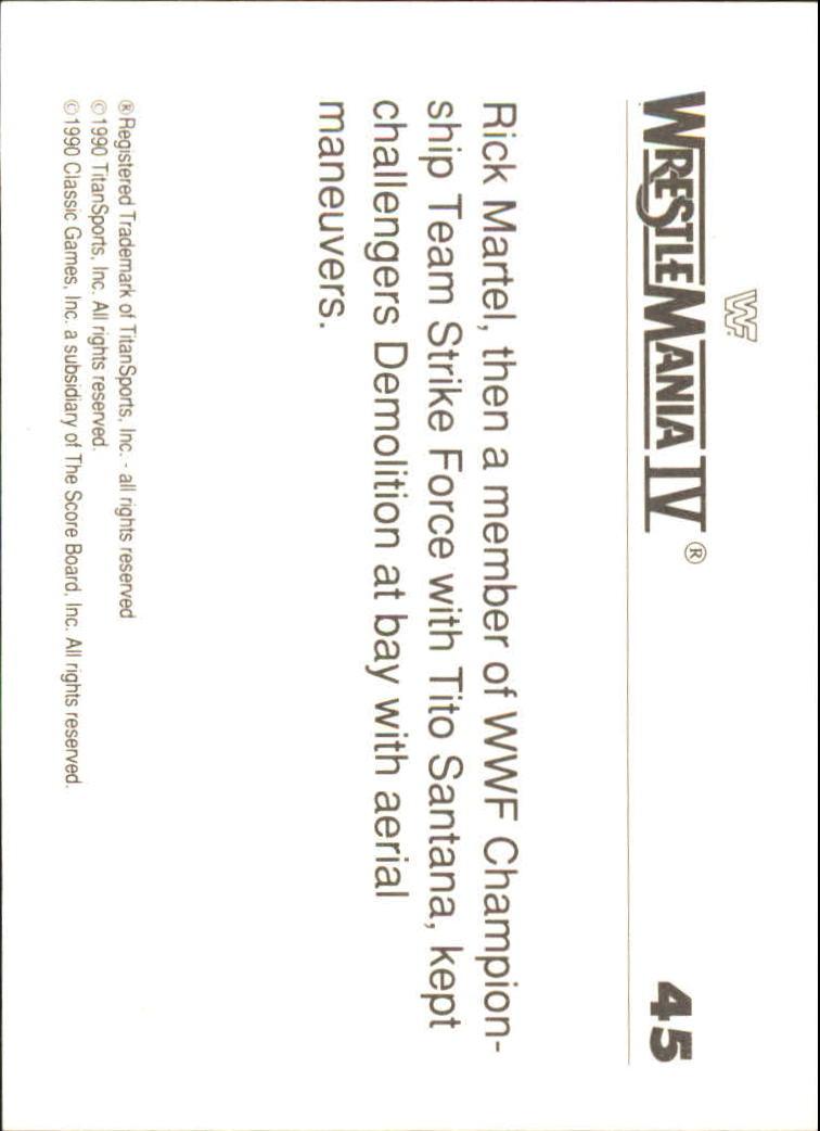 1990-Classic-WWF-History-of-WrestleMania-A3974-You-Pick-10-FREE-SHIP thumbnail 69