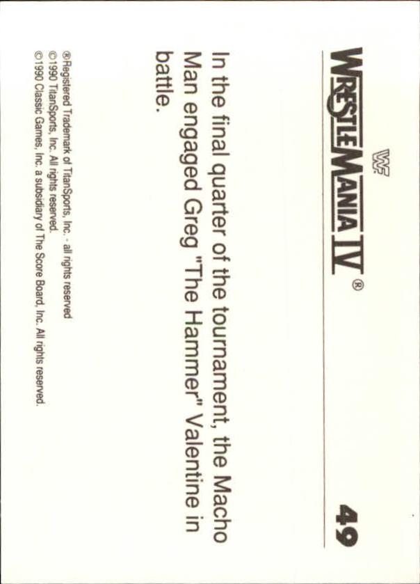 1990-Classic-WWF-History-of-WrestleMania-A3974-You-Pick-10-FREE-SHIP thumbnail 77