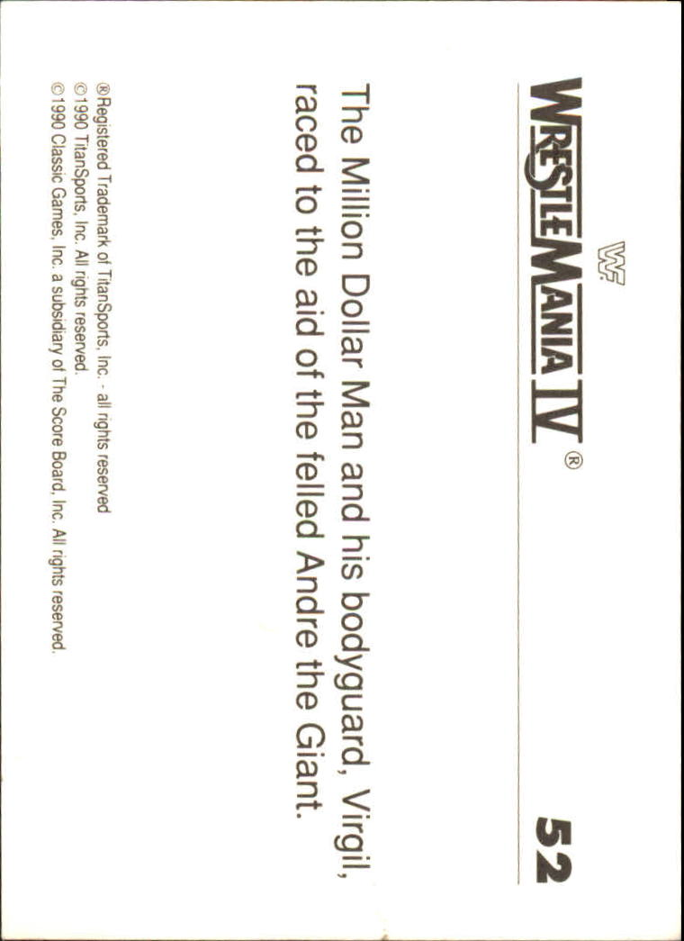 1990-Classic-WWF-History-of-WrestleMania-A3974-You-Pick-10-FREE-SHIP thumbnail 83