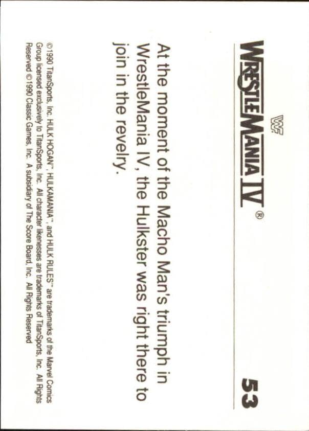 1990-Classic-WWF-History-of-WrestleMania-A3974-You-Pick-10-FREE-SHIP thumbnail 85