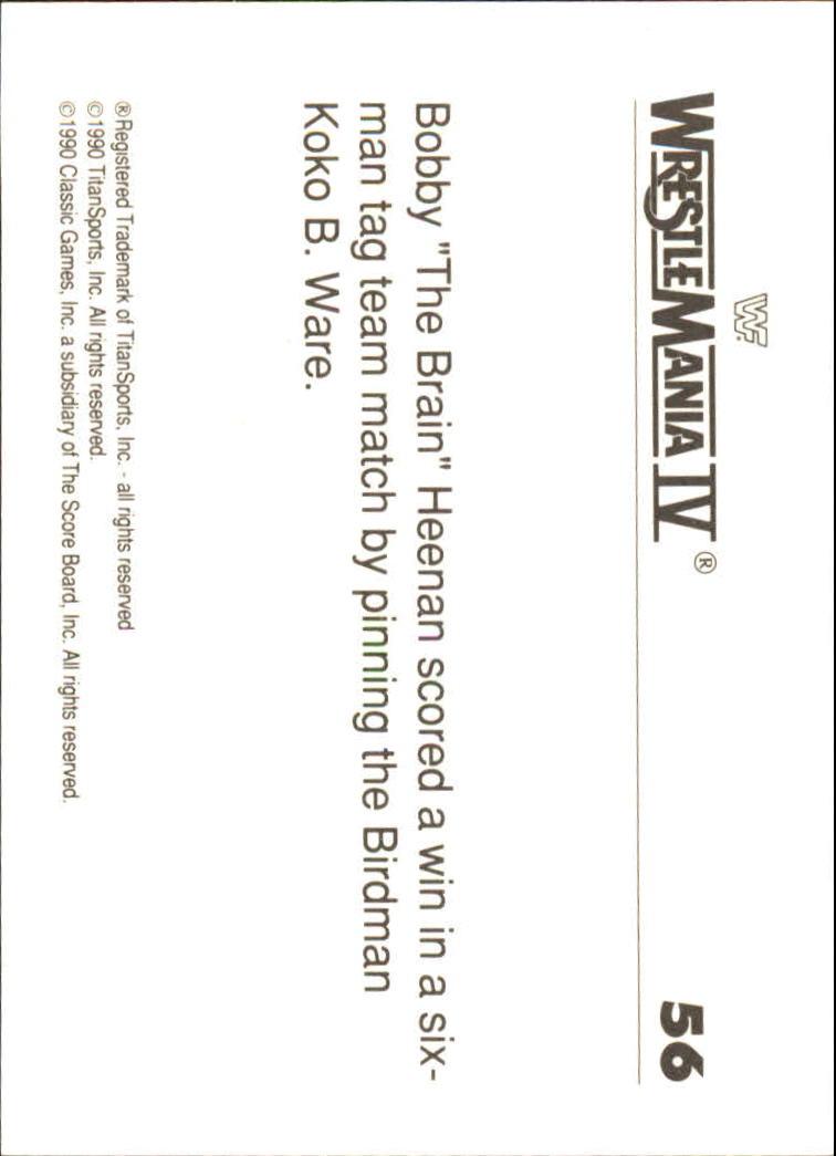 1990-Classic-WWF-History-of-WrestleMania-A3974-You-Pick-10-FREE-SHIP thumbnail 91
