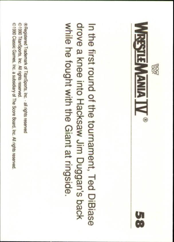 1990-Classic-WWF-History-of-WrestleMania-A3974-You-Pick-10-FREE-SHIP thumbnail 95