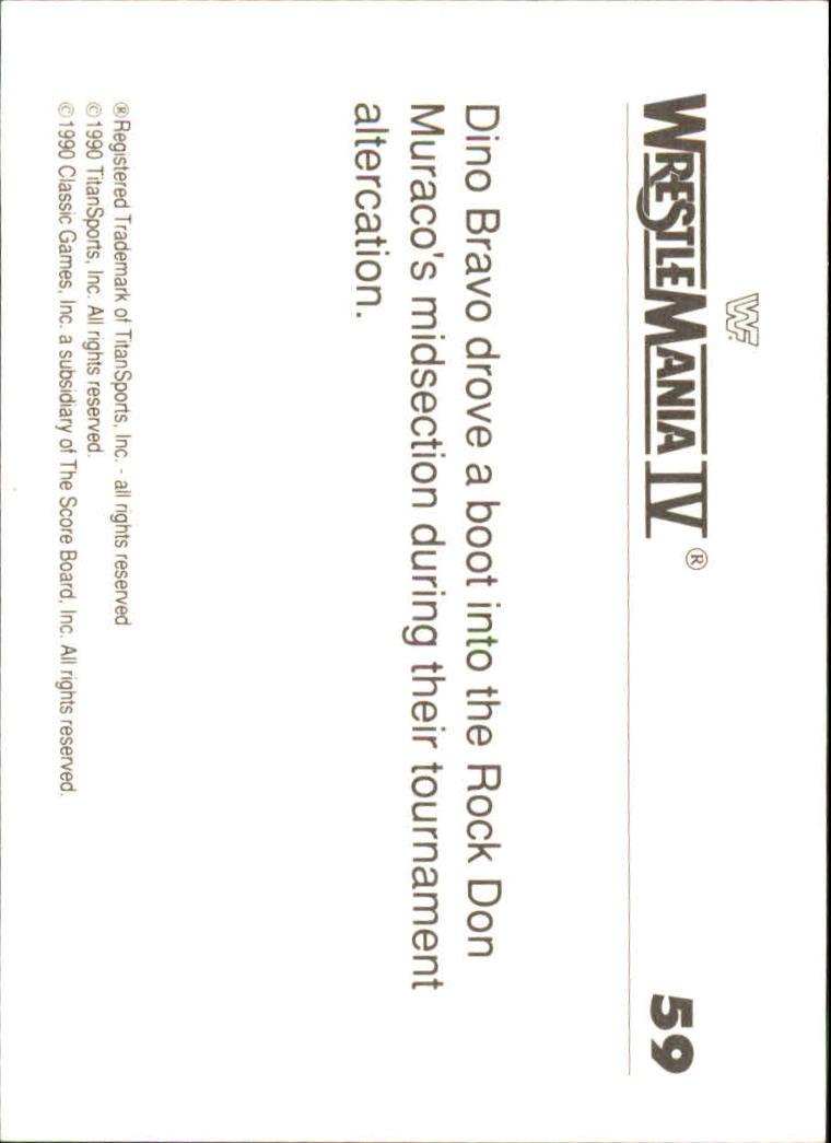 1990-Classic-WWF-History-of-WrestleMania-A3974-You-Pick-10-FREE-SHIP thumbnail 97