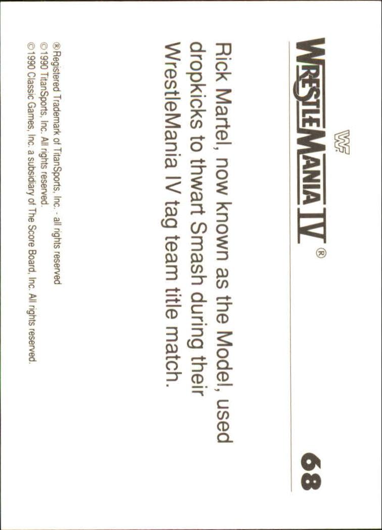 1990-Classic-WWF-History-of-WrestleMania-A3974-You-Pick-10-FREE-SHIP thumbnail 115