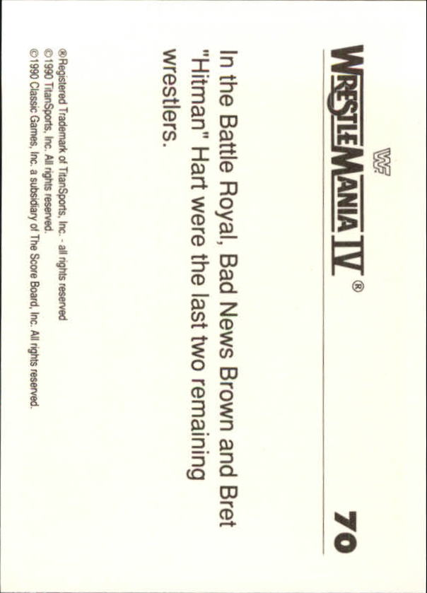 1990-Classic-WWF-History-of-WrestleMania-A3974-You-Pick-10-FREE-SHIP thumbnail 117