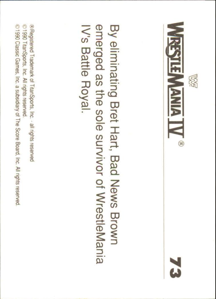 1990-Classic-WWF-History-of-WrestleMania-A3974-You-Pick-10-FREE-SHIP thumbnail 123