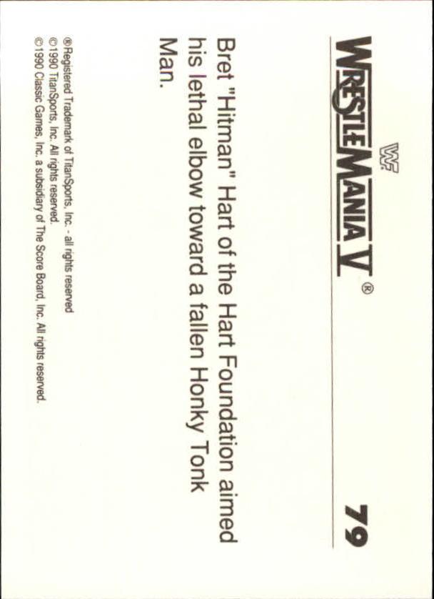 1990-Classic-WWF-History-of-WrestleMania-A3974-You-Pick-10-FREE-SHIP thumbnail 133