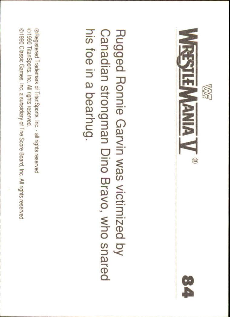 1990-Classic-WWF-History-of-WrestleMania-A3974-You-Pick-10-FREE-SHIP thumbnail 141