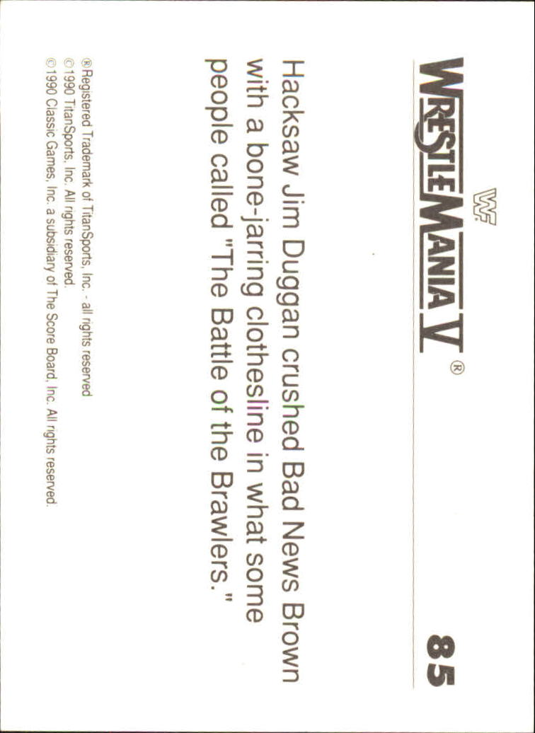 1990-Classic-WWF-History-of-WrestleMania-A3974-You-Pick-10-FREE-SHIP thumbnail 143