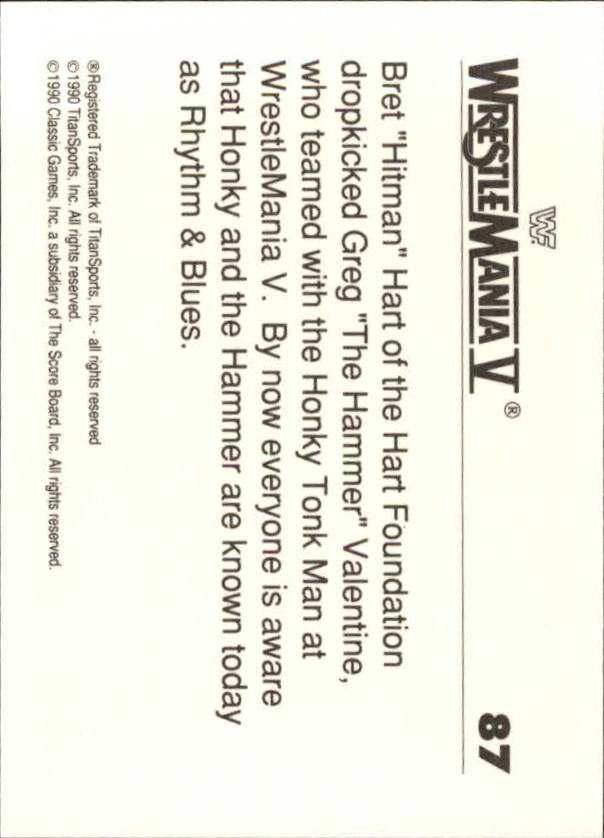 1990-Classic-WWF-History-of-WrestleMania-A3974-You-Pick-10-FREE-SHIP thumbnail 147
