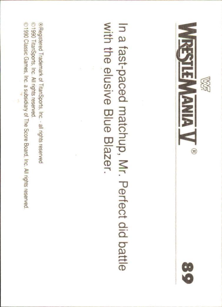 1990-Classic-WWF-History-of-WrestleMania-A3974-You-Pick-10-FREE-SHIP thumbnail 151