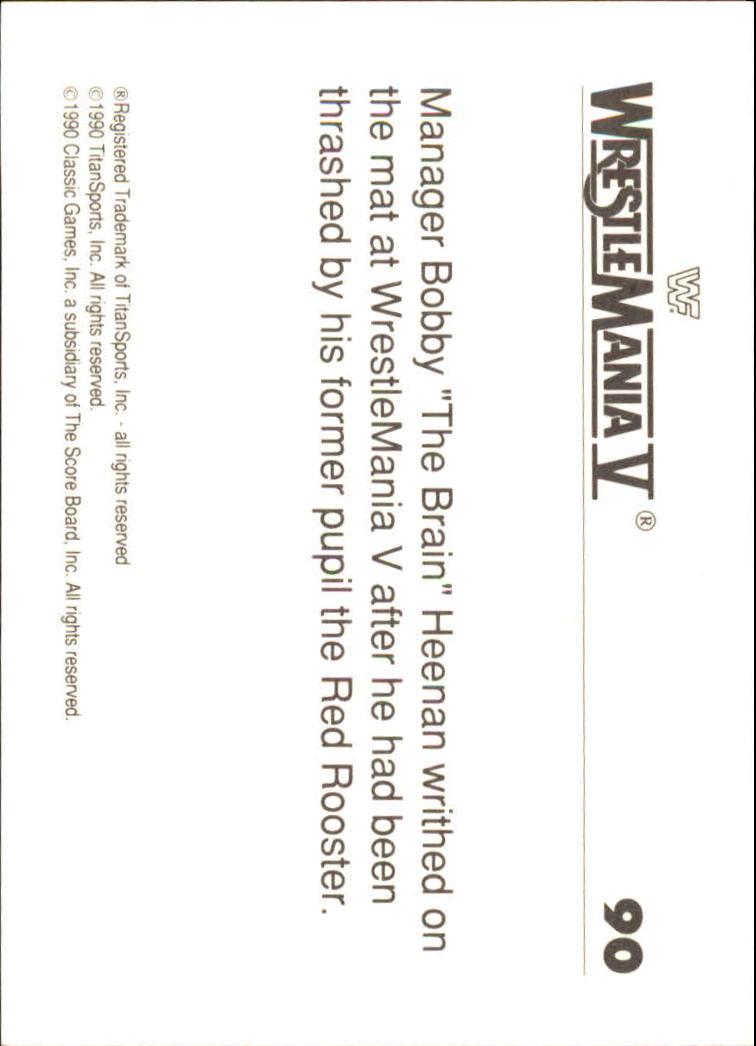 1990-Classic-WWF-History-of-WrestleMania-A3974-You-Pick-10-FREE-SHIP thumbnail 153
