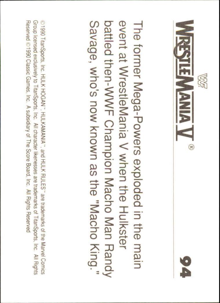 1990-Classic-WWF-History-of-WrestleMania-A3974-You-Pick-10-FREE-SHIP thumbnail 161
