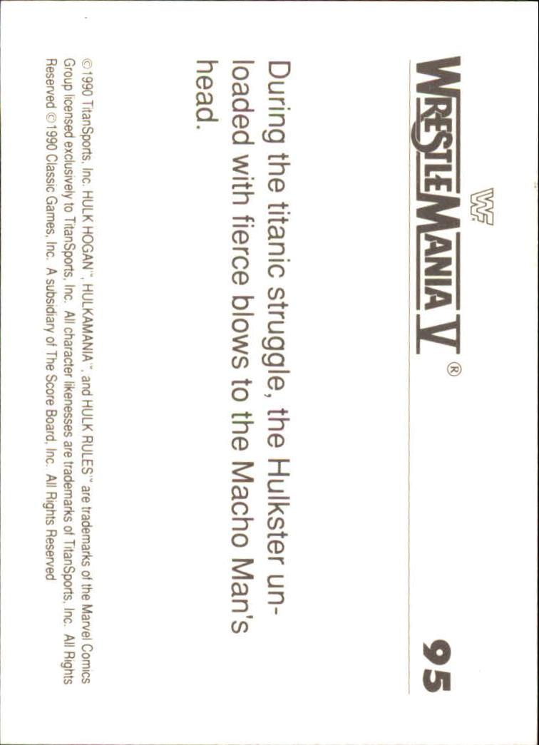 1990-Classic-WWF-History-of-WrestleMania-A3974-You-Pick-10-FREE-SHIP thumbnail 163