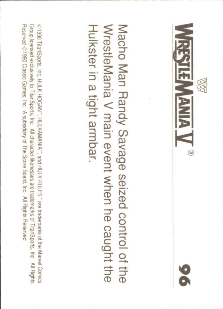 1990-Classic-WWF-History-of-WrestleMania-A3974-You-Pick-10-FREE-SHIP thumbnail 165