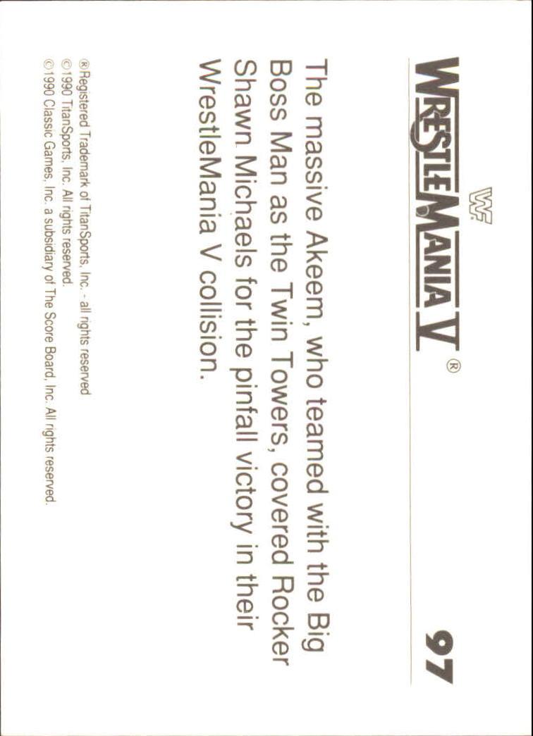 1990-Classic-WWF-History-of-WrestleMania-A3974-You-Pick-10-FREE-SHIP thumbnail 167