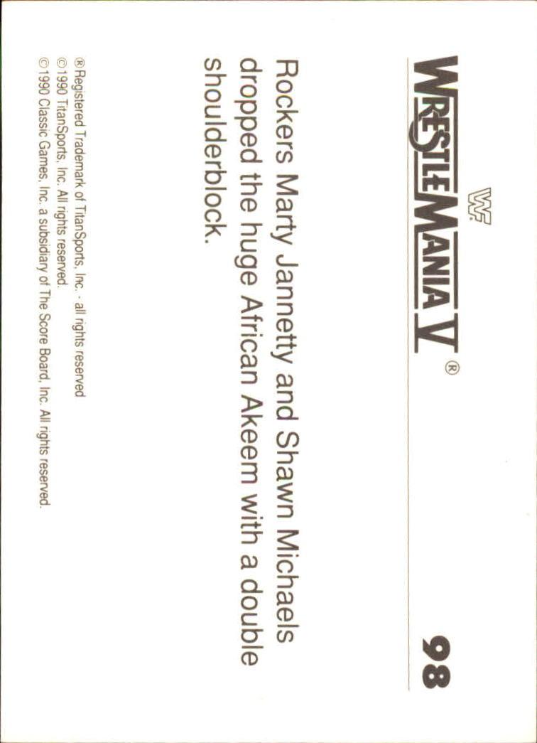 1990-Classic-WWF-History-of-WrestleMania-A3974-You-Pick-10-FREE-SHIP thumbnail 169