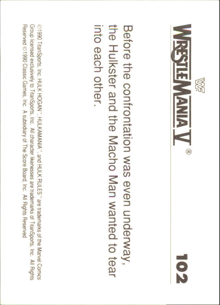 1990-Classic-WWF-History-of-WrestleMania-A3974-You-Pick-10-FREE-SHIP thumbnail 177