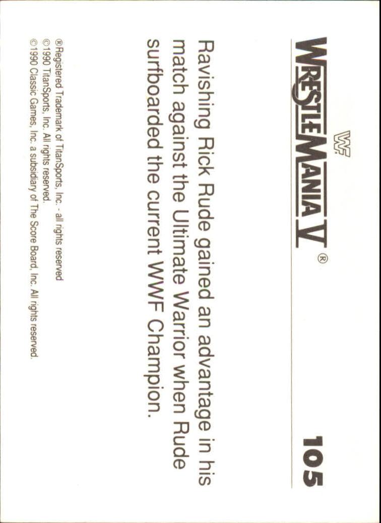 1990-Classic-WWF-History-of-WrestleMania-A3974-You-Pick-10-FREE-SHIP thumbnail 183