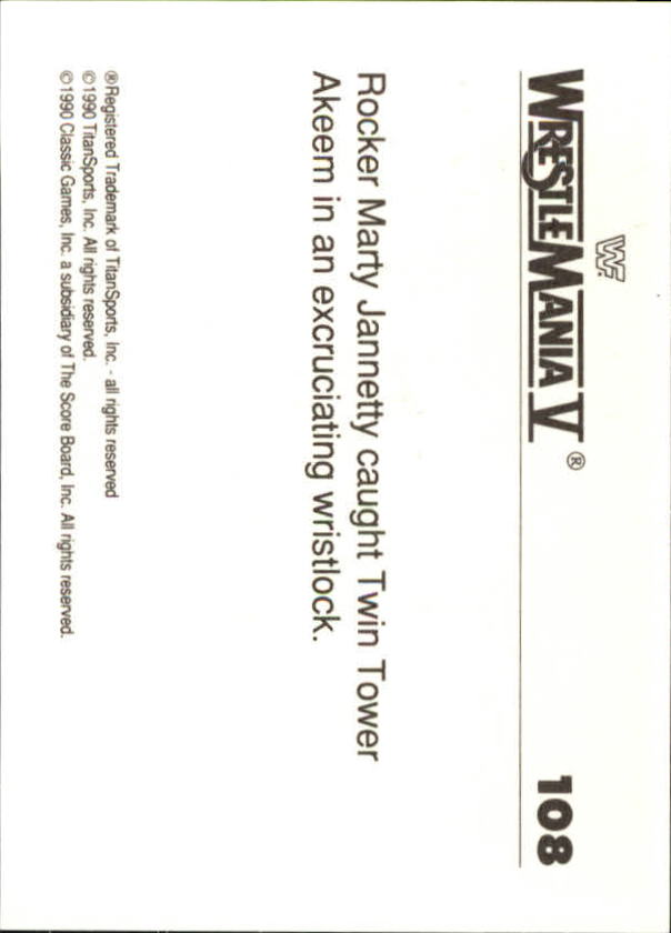 1990-Classic-WWF-History-of-WrestleMania-A3974-You-Pick-10-FREE-SHIP thumbnail 189