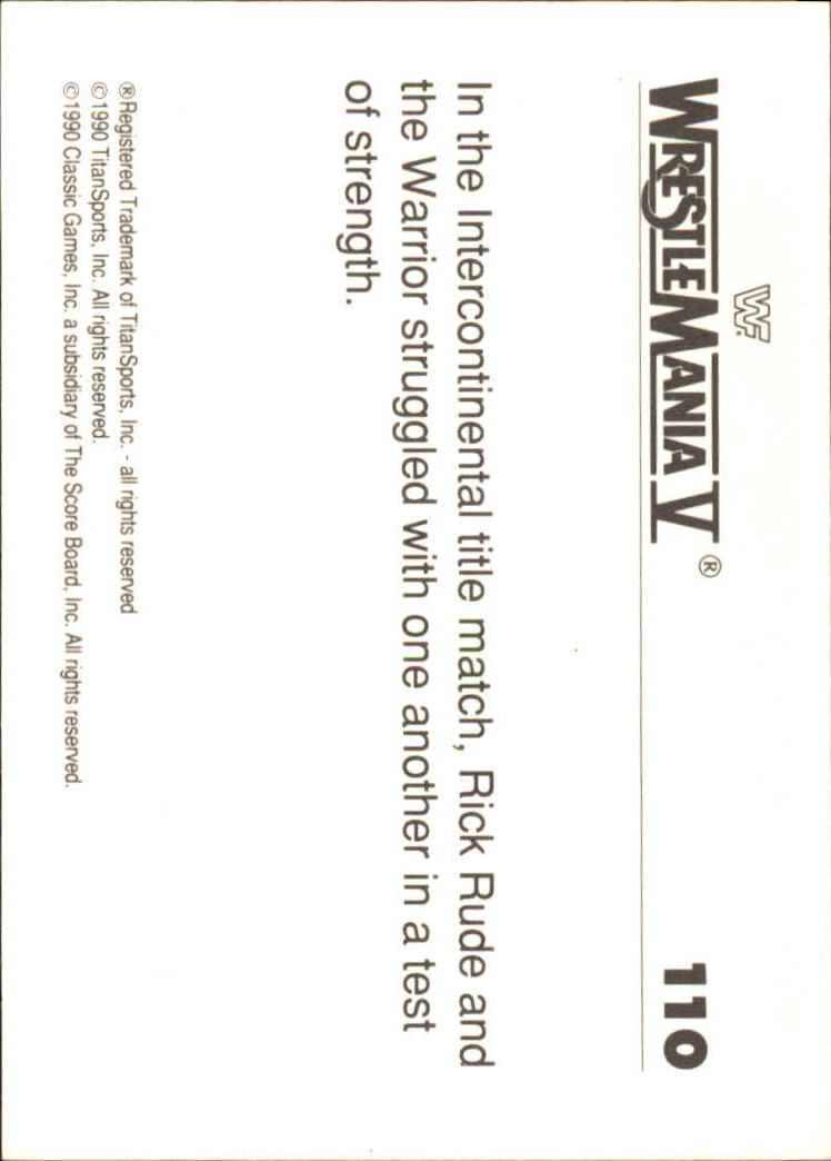 1990-Classic-WWF-History-of-WrestleMania-A3974-You-Pick-10-FREE-SHIP thumbnail 191