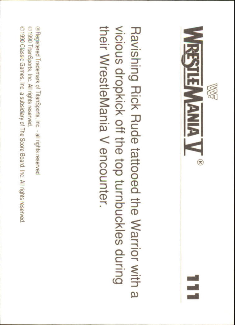 1990-Classic-WWF-History-of-WrestleMania-A3974-You-Pick-10-FREE-SHIP thumbnail 193
