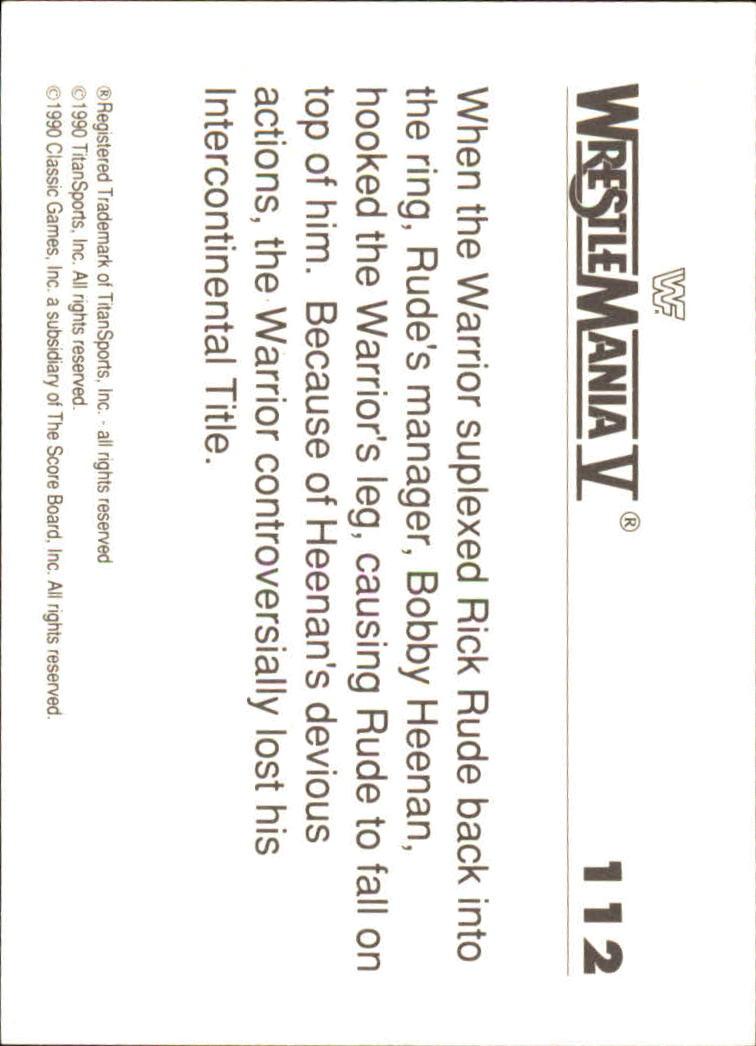 1990-Classic-WWF-History-of-WrestleMania-A3974-You-Pick-10-FREE-SHIP thumbnail 195