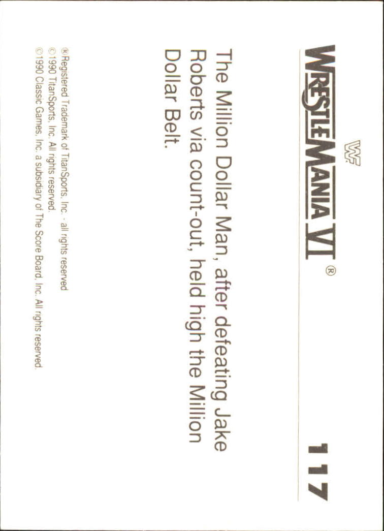 1990-Classic-WWF-History-of-WrestleMania-A3974-You-Pick-10-FREE-SHIP thumbnail 203
