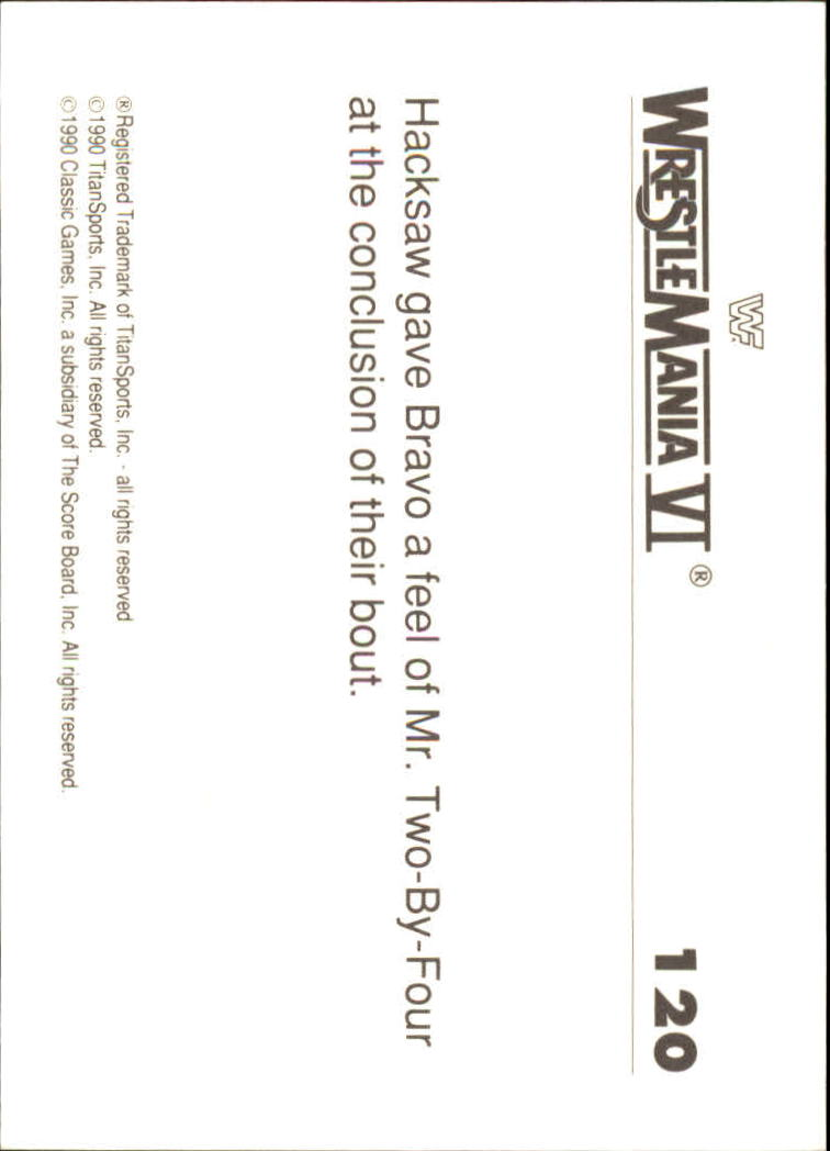 1990-Classic-WWF-History-of-WrestleMania-A3974-You-Pick-10-FREE-SHIP thumbnail 209