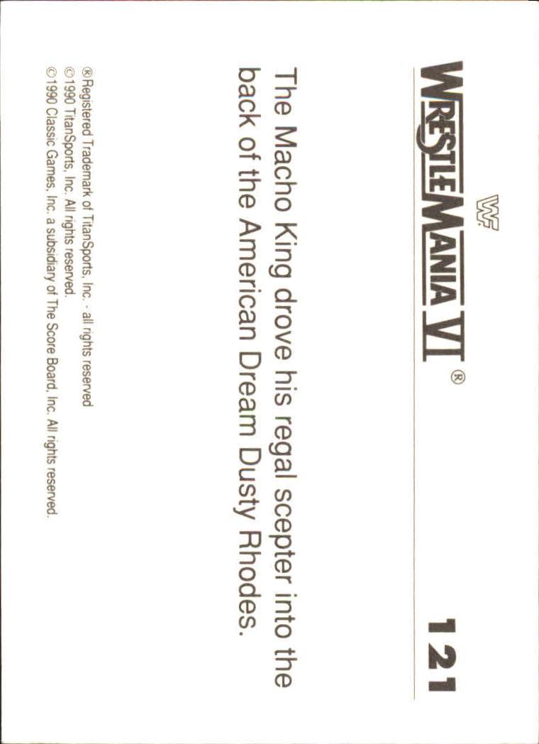 1990-Classic-WWF-History-of-WrestleMania-A3974-You-Pick-10-FREE-SHIP thumbnail 211