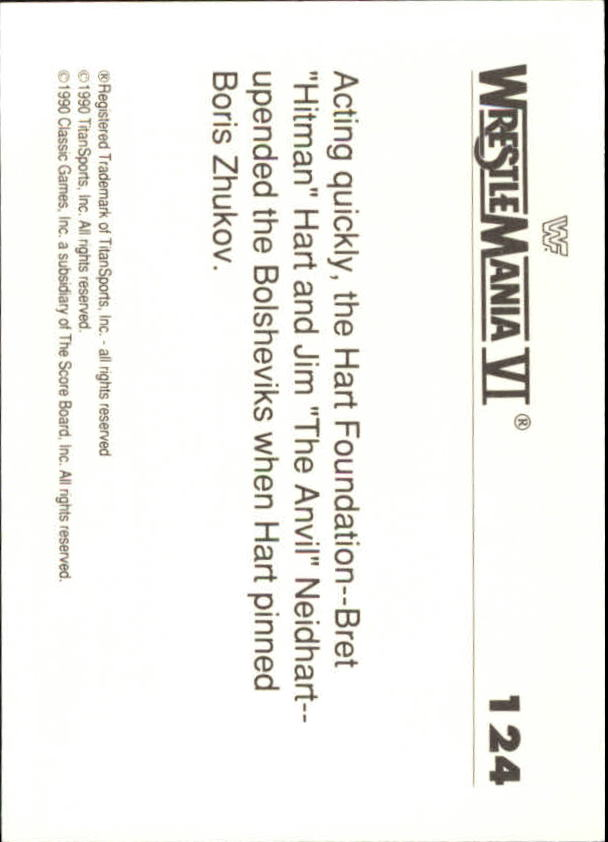 1990-Classic-WWF-History-of-WrestleMania-A3974-You-Pick-10-FREE-SHIP thumbnail 217