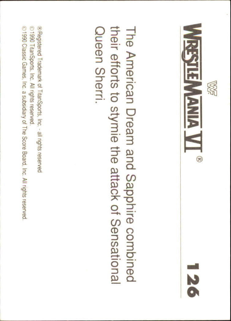 1990-Classic-WWF-History-of-WrestleMania-A3974-You-Pick-10-FREE-SHIP thumbnail 221