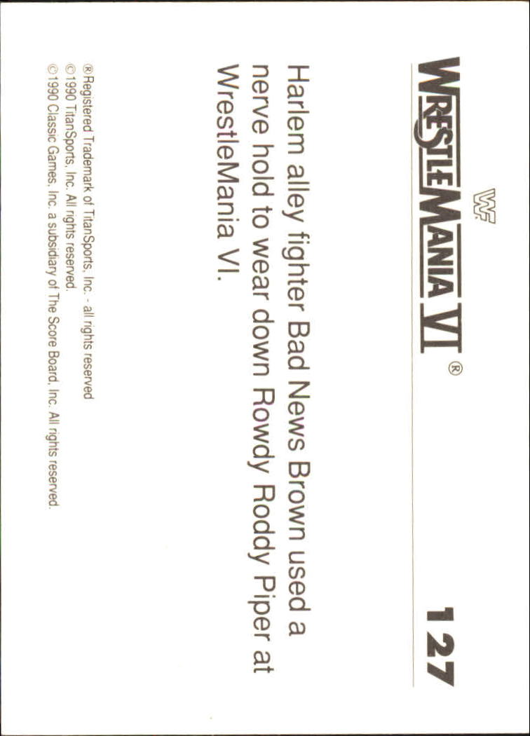 1990-Classic-WWF-History-of-WrestleMania-A3974-You-Pick-10-FREE-SHIP thumbnail 223