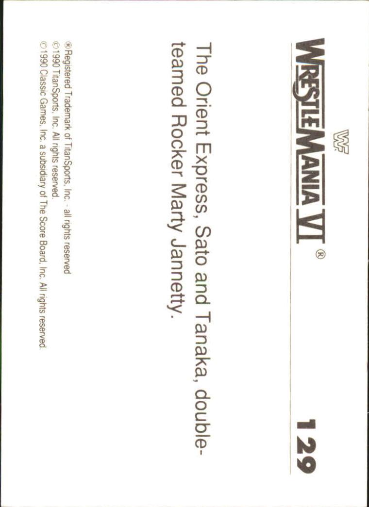 1990-Classic-WWF-History-of-WrestleMania-A3974-You-Pick-10-FREE-SHIP thumbnail 225