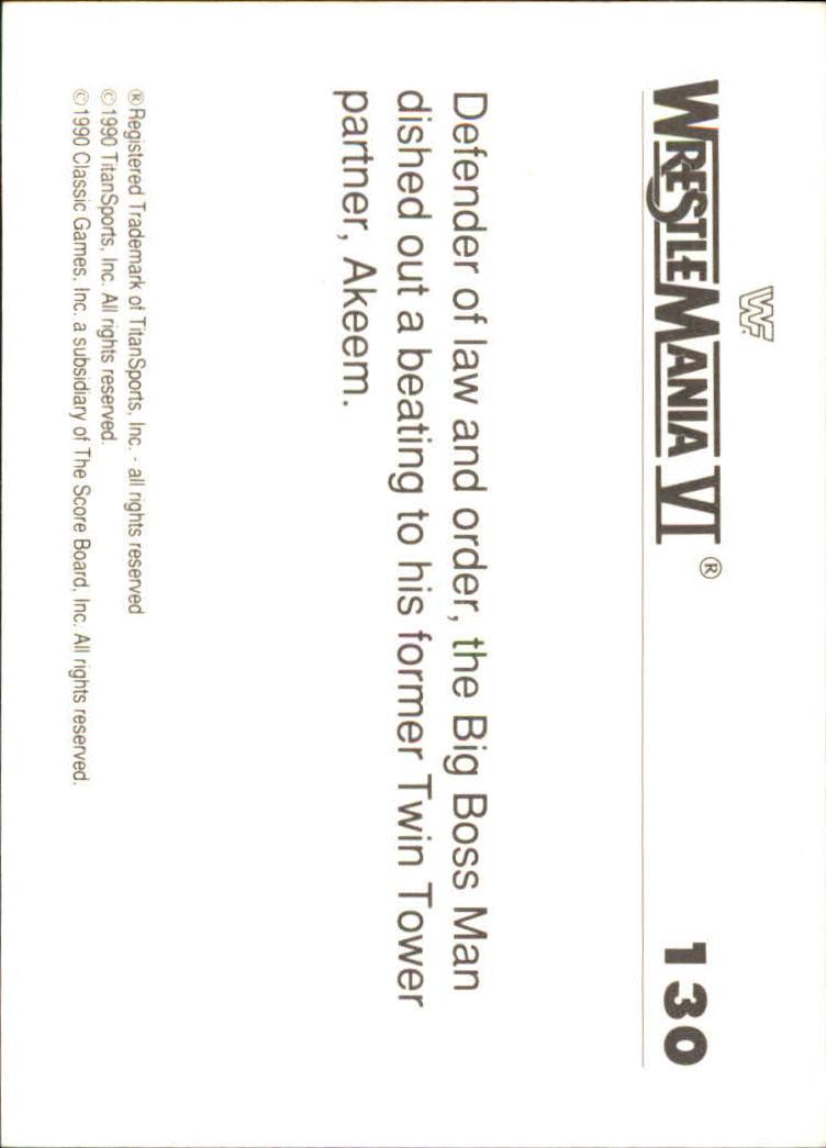 1990-Classic-WWF-History-of-WrestleMania-A3974-You-Pick-10-FREE-SHIP thumbnail 227