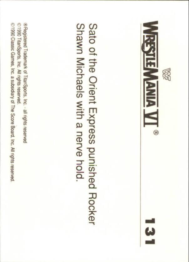 1990-Classic-WWF-History-of-WrestleMania-A3974-You-Pick-10-FREE-SHIP thumbnail 229