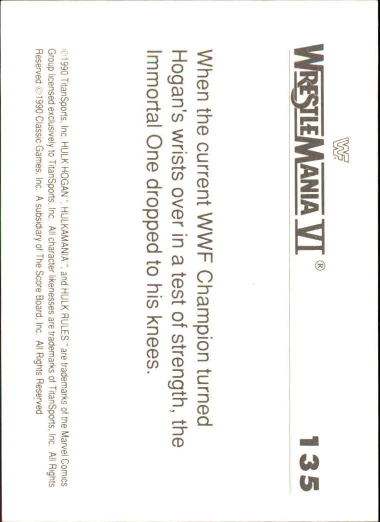 1990-Classic-WWF-History-of-WrestleMania-A3974-You-Pick-10-FREE-SHIP thumbnail 237