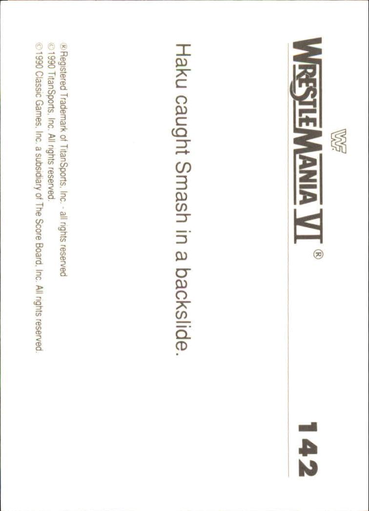 1990-Classic-WWF-History-of-WrestleMania-A3974-You-Pick-10-FREE-SHIP thumbnail 247