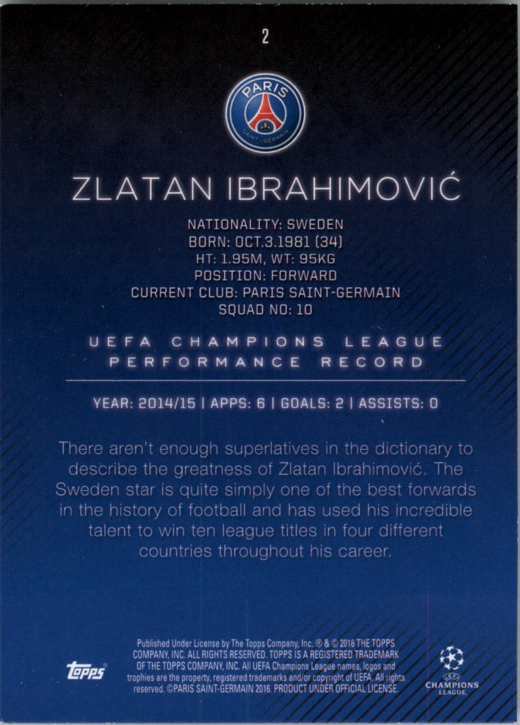 2015-16-Topps-UEFA-Champions-League-Showcase-Soccer-Your-Choice-GOTBASEBALLCARDS thumbnail 3